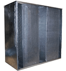 carbon filter unit capturing gases, vocs and chemicals and smoke