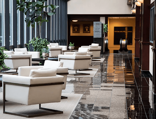 hotel lobbies should have an air purifier to circulate fresh, unpolluted, allergen-free air