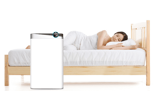 should you sleep with an air purifier still on