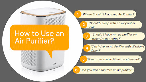 some common questions on how to use an air purifier